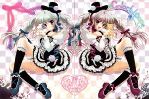 Rating: Safe Score: 32 Tags: dress gap garter hisuitei izumi_tsubasu lolita_fashion neko User: crim