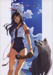 Rating: Questionable Score: 20 Tags: school_swimsuit seifuku shizuma_yoshinori swimsuits sword User: Radioactive