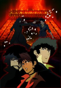 Rating: Safe Score: 5 Tags: cowboy_bebop kawamoto_toshihiro spike_spiegel vincent_volaju User: rx178aeug