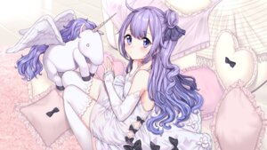 Rating: Safe Score: 41 Tags: azur_lane dress thighhighs umeno_(shio1205) unicorn_(azur_lane) User: Mr_GT