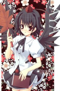 Rating: Safe Score: 8 Tags: himegami nanase_aoi shameimaru_aya touhou User: Radioactive