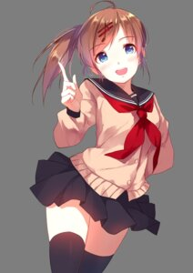 Rating: Safe Score: 71 Tags: caidychen diversity_promotions seifuku thighhighs transparent_png yuzuru_(diversity) User: Mr_GT
