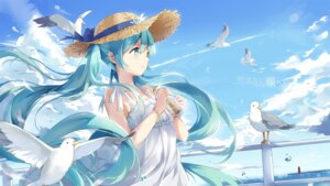 Rating: Safe Score: 109 Tags: dress hatsune_miku kuroi_asahi summer_dress vocaloid User: mattiasc02
