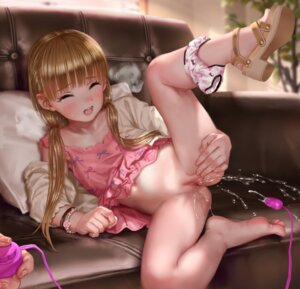 Rating: Explicit Score: 81 Tags: asakuraf censored dress heels mary_cochran pantsu panty_pull pee pussy pussy_juice skirt_lift the_idolm@ster the_idolm@ster_cinderella_girls vibrator User: Spidey