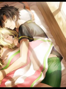Rating: Safe Score: 25 Tags: kagerou_project kouen kozakura_mary mekakucity_actors seto_kousuke sheets User: dreamer2908