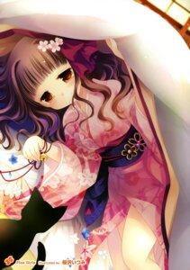 Rating: Safe Score: 36 Tags: kimono neko sakurazawa_izumi User: Twinsenzw