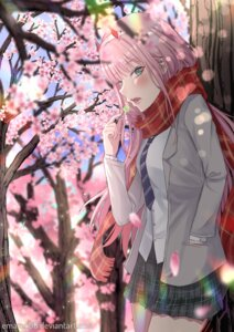 Rating: Safe Score: 17 Tags: darling_in_the_franxx emarex96 horns seifuku zero_two_(darling_in_the_franxx) User: Spidey