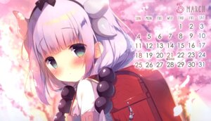 Rating: Safe Score: 11 Tags: calendar horns kanna_kamui kobayashi-san_chi_no_maid_dragon shiratama shiratamaco User: Radioactive