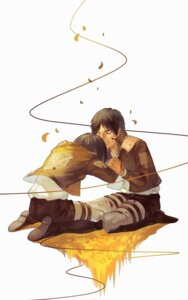 Rating: Safe Score: 7 Tags: eren_jaeger joseph_lee mikasa_ackerman shingeki_no_kyojin User: Noodoll
