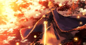 Rating: Safe Score: 8 Tags: fate/stay_night saber sword tagme User: BattlequeenYume