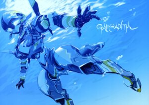 Rating: Safe Score: 18 Tags: chamber mecha miwa_shirow suisei_no_gargantia User: drop