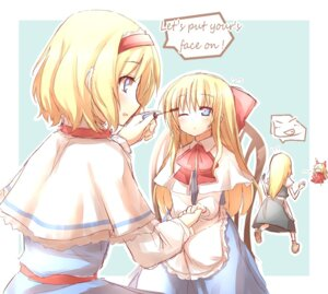 Rating: Safe Score: 15 Tags: alice_margatroid hiraga_matsuri hourai kirisame_marisa shanghai touhou User: konstargirl