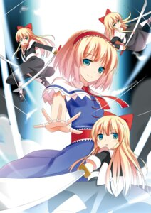 Rating: Safe Score: 19 Tags: alice_margatroid d2c shanghai sword touhou User: fireattack