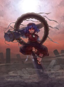 Rating: Safe Score: 1 Tags: sankuma touhou yasaka_kanako User: Mr_GT