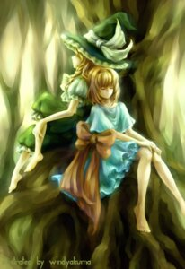 Rating: Safe Score: 6 Tags: alice_margatroid kirisame_marisa touhou windyakuma User: Radioactive