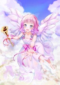 Rating: Safe Score: 17 Tags: angel dress hyonee tagme wings User: Dreista