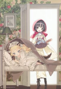 Rating: Safe Score: 20 Tags: alice_blanche animal_ears ikoku_meiro_no_croisee lolita_fashion takeda_hinata yune User: MDGeist
