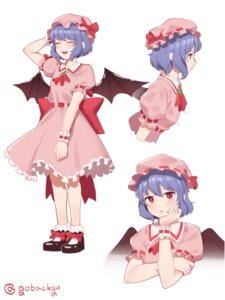 Rating: Questionable Score: 6 Tags: breast_hold goback remilia_scarlet touhou wings User: Dreista