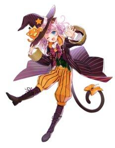 Rating: Questionable Score: 7 Tags: animal_ears chano_hinano halloween nekomimi tagme tail witch User: Dreista