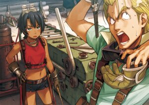 Rating: Safe Score: 17 Tags: mayta naruko_hanaharu pinion suisei_no_gargantia User: Spyps