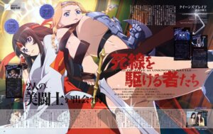 Rating: Questionable Score: 16 Tags: leina miko miyazawa_tsutomu queen's_blade tomoe underboob User: Velen