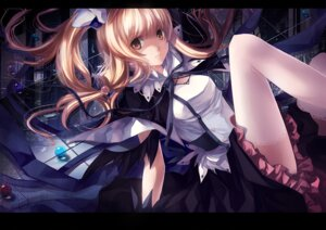 Rating: Safe Score: 49 Tags: skade thighhighs User: Nekotsúh
