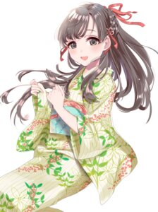 Rating: Safe Score: 34 Tags: kobayakawa_sae sinsihukunokonaka the_idolm@ster the_idolm@ster_cinderella_girls yukata User: mash