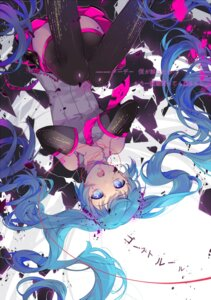 Rating: Questionable Score: 40 Tags: blood ekita_gen guro hatsune_miku thighhighs vocaloid User: Mr_GT