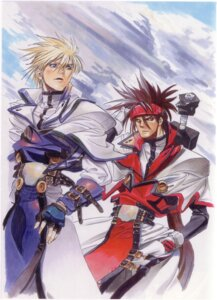 Rating: Safe Score: 6 Tags: guilty_gear ky_kiske male sol_badguy User: Radioactive