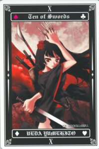 Rating: Safe Score: 7 Tags: sword tarot ueda_yumehito User: Radioactive