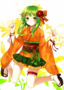 Rating: Safe Score: 22 Tags: amano_sora garter gumi vocaloid User: 椎名深夏