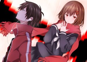 Rating: Safe Score: 21 Tags: etafai kagerou_project kisaragi_shintarou mekakucity_actors seifuku tateyama_ayano User: Radioactive