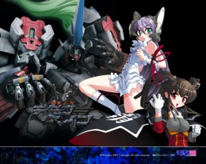 Rating: Safe Score: 9 Tags: al_azif demonbane dress hadoh_ruri mecha niθ wallpaper User: noirblack