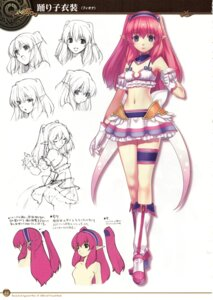 Rating: Safe Score: 28 Tags: agarest_senki agarest_senki_2 ass character_design fiona_(agarest_senki) garter hirano_katsuyuki monochrome naked pantsu pointy_ears profile_page screening sketch User: shadowninja