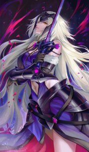 Rating: Safe Score: 28 Tags: armor cleavage fate/grand_order jeanne_d'arc jeanne_d'arc_(alter)_(fate) pengnangehao sword User: mash