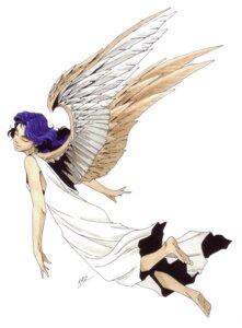 Rating: Safe Score: 2 Tags: angel angel_(megaten) kaneko_kazuma megaten shin_megami_tensei wings User: Radioactive