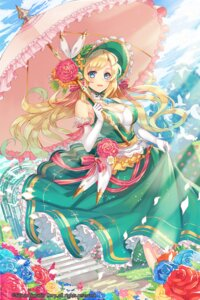 Rating: Safe Score: 45 Tags: bashikou cleavage dress gyakushuu_no_fantasica umbrella User: charunetra