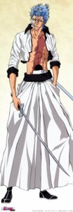 Rating: Safe Score: 7 Tags: bleach grimmjow_jeagerjaques male stick_poster sword User: unisex