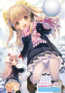 Rating: Questionable Score: 103 Tags: ass loli pantsu pantyhose seifuku sorimura_youji thighhighs User: Twinsenzw
