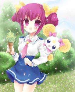 Rating: Safe Score: 14 Tags: candy_(smile_precure) hoshizora_miyuki kouta. pretty_cure seifuku smile_precure! User: 椎名深夏