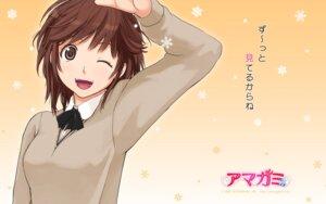 Rating: Safe Score: 22 Tags: amagami sakurai_rihoko seifuku takayama_kisai wallpaper User: narutoXgarcia