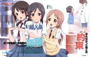 Rating: Safe Score: 27 Tags: kawaguchi_chisato miyamoto_konatsu okita_sawa sakai_wakana seifuku tari_tari User: Ravenblitz