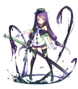 Rating: Safe Score: 42 Tags: aoi_tsunami stockings sword thighhighs User: charunetra
