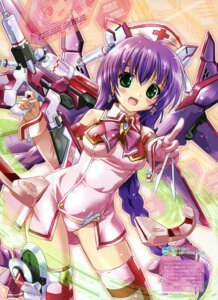Rating: Questionable Score: 30 Tags: komatsu_e-ji mecha_musume mecha_nurse_girl_nana nurse pantsu thighhighs User: crim