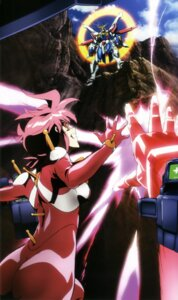 Rating: Questionable Score: 11 Tags: allenby_beardsley bodysuit g_gundam gundam mecha User: drop