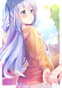 Rating: Safe Score: 85 Tags: gochuumon_wa_usagi_desu_ka? kafuu_chino rouka sweater User: Maxpayness