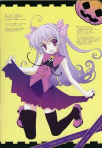 Rating: Safe Score: 20 Tags: halloween heels ice_&_choco nanao_naru see_through thighhighs User: admin2