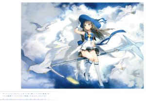 Rating: Safe Score: 95 Tags: anmi dress houkago_no_pleiades itsuki_(houkago_no_pleiades) weapon User: Twinsenzw