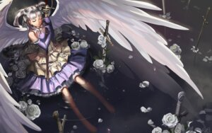 Rating: Safe Score: 58 Tags: alphonse dress erendis eternita sword wallpaper wings User: Aurelia