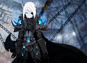 Rating: Safe Score: 28 Tags: armor auer elf eyepatch pointy_ears world_of_warcraft User: eridani